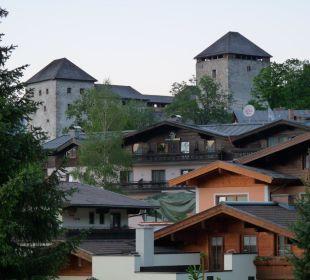 Blick zur Burg Hotel Vier Jahreszeiten