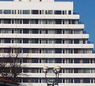 Carat Hotel vom Strand aus Carat Golf & Sporthotel Residenz