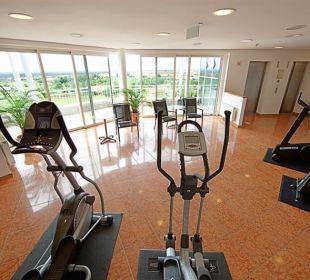 Fitnessbereich Globana Airport Hotel