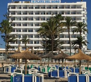 Hotel von vorne SENTIDO Playa del Moro