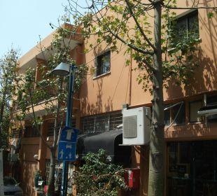 Eingang sehr versteckt Galileo Boutique Hotel