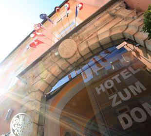 Hoteleingnag Hotel zum Dom
