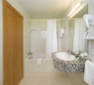 Badezimmer (Doppelzimmer) Hotel Osiris