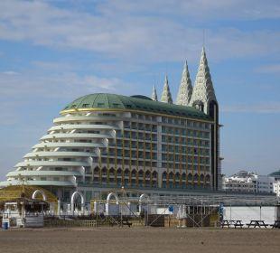 Außenansicht aus Südost Hotel Delphin Imperial