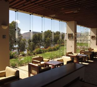Hotelbar mit Ausblick Hotel Libertador Lago Titicaca