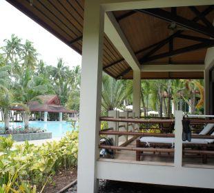 Terrasse, Villa Henann Resort