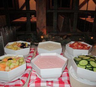 Obstsalat, Joghurt, Tomaten & Gurken ENZIANA Hotel Vienna
