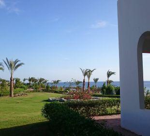 Von der Terrasse zum Meer