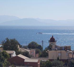 Traumhafter Ausblick Hotel Corfu Pelagos