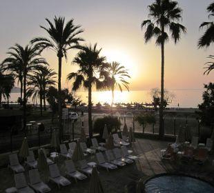 Sonnenaufgang morgens um sieben SENTIDO Playa del Moro