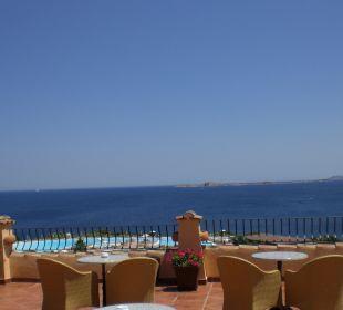 Blick von der Terrasse Colonna Resort