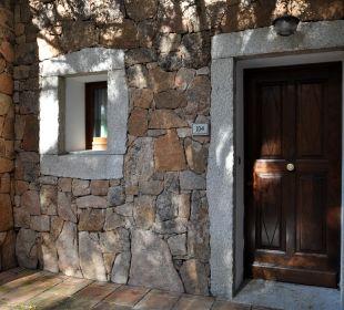 Eingang zum Zimmer Hotel Parco Degli Ulivi