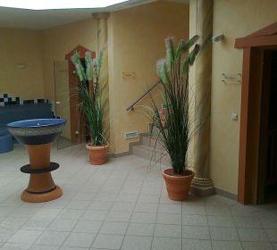 Saunabereich  Romantik Hotel Bösehof