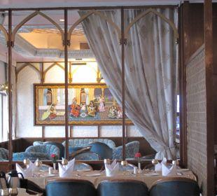 Frühstücksraum am 1. Tag Clarks Shiraz Hotel