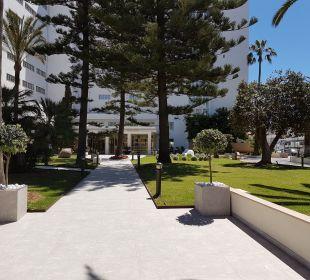 Gartenanlage SENTIDO Playa del Moro