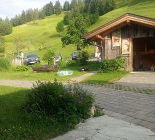 Außenanlage Ferienhof Oberreit