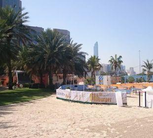 Ogródek piwny Sheraton Hotel & Resort Abu Dhabi