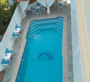 Nette kleine Poolanlage Hotel Alkyonis
