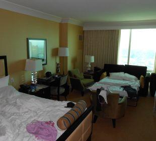 Roomview from Door Hotel Trump International