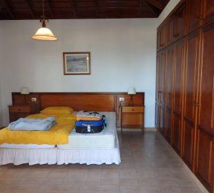 Riesenschlafzimmer mit Terrassenzugang Villen Los Lomos