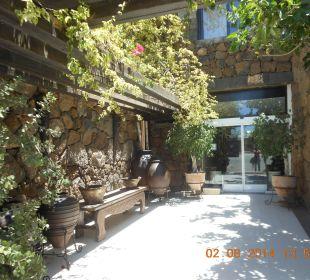Eingang zum Hotel Hotel Boutique Villa VIK