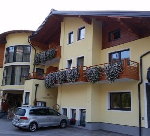 Der Eingangsbereich Hotel Zirngast