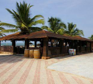 Strandbar Hotel Holiday Inn Resort Goa