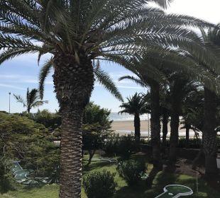 Blick vom Balkon  Hotel Hipotels La Geria