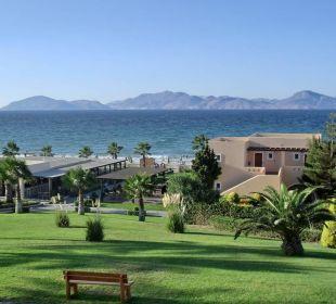 Blick auf Taverne und Kalymnos Hotel Horizon Beach Resort