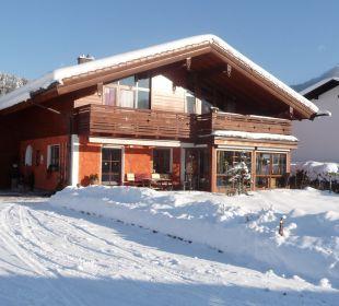 Winter in Berchtesgaden Ferienwohnung Haus Rosenrot