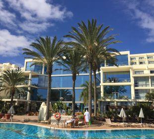Außenseite, Ausgang zur Pool-Anlage und Strand SBH Hotel Costa Calma Palace