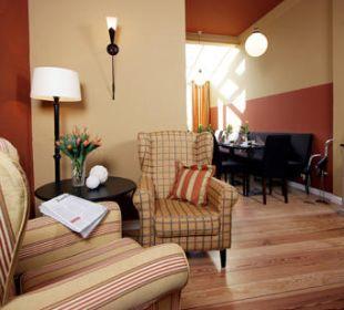Der Frühstückraum in der kleinen Residence Hotel Residence Bremen