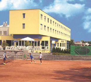 Vom Tennisplatz Sporthotel Aktivpark Güssing