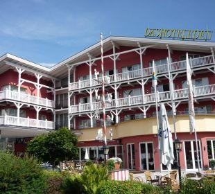 Blick von Süden Das Hotel Eden