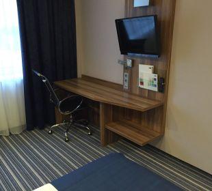 Schreibtisch Hotel Holiday Inn Express Hamburg City Centre