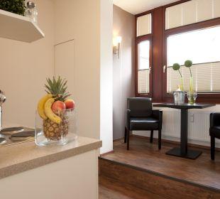 Küche in der Appartement Residence Hotel Residence Bremen
