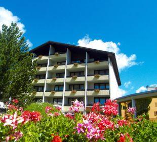 Aussenansicht Sommer Hotel Panorama Valbella (geschlossen)