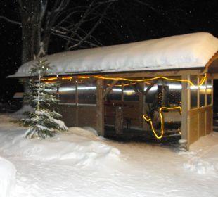 Gemütlicher Winterabend im Gasthof Rose Haus Anny Schall