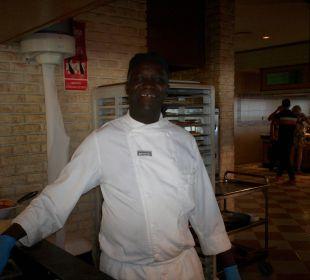 Unser Pizza-Bäcker ClubHotel Riu Vistamar