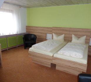 Zimmer im Dachgeschoss Hotel Traube