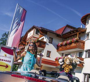 Außenansicht Alpenhotel Karwendel