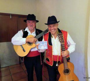Unterhaltung am Spanischenabend Hotel Riu Garoe