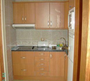 Kleines Appartement - Küchenzeile Hotel Rocamar Beach