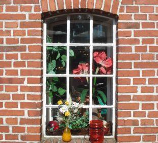 Tennenfenster Landgasthof Hengstforder Mühle