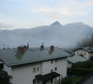 Berchtesgarden schläft noch Alpenhotel Fischer