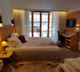 Doppelzimmer mit Aufbettung Hubertus Alpin Lodge & Spa