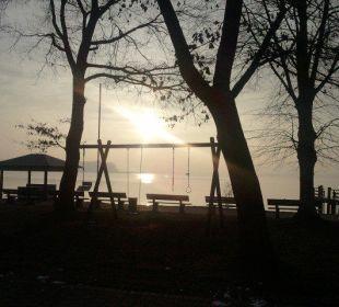 Blick von der Promenade zur Herreninsel Hotel Luitpold am See 1&2