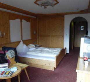 Zimmer mit Südbalkon Sporthotel Brugger