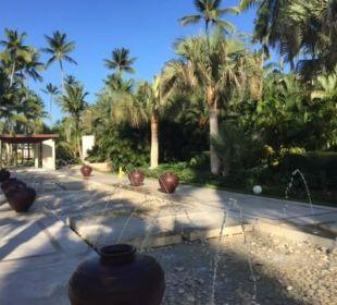 Meistens war das Wasser aus Now Larimar Punta Cana
