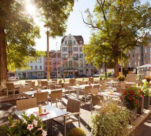 Außenterrasse Steigenberger Hotel Thüringer Hof
